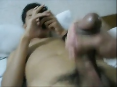 Asian Boy Helping Hand