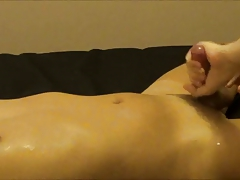 Asian boy milked and cums twice