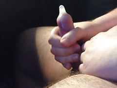 Cumming in a Condom