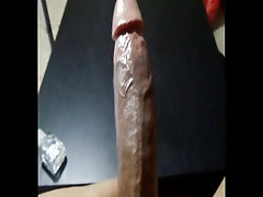 HUGE COCK AND CUM SHOT