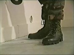 Two Marines at the gloryhole 3 cumshots