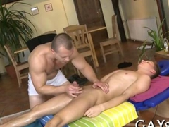 Throat fucking a very sexy hunk