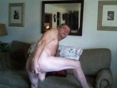 Mike muters showing his beautiful butt while masturbating