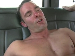 Straight amateur stuffing dick into a tight gay ass
