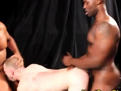Gay interracial ass fuck is too sweaty and raw