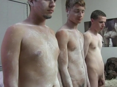 Straight college students humiliated for their initiation
