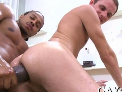 Cute white lad gets his ass stretched with a bbc