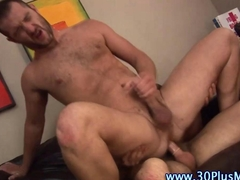 Hard cock fucking gays blow their loads all over