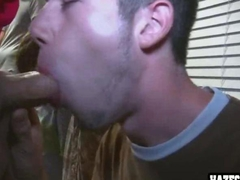 Amateur guys go gay and suck each other off