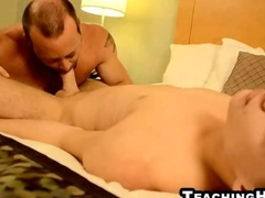 Billy London gets his ass licked and cock sucked