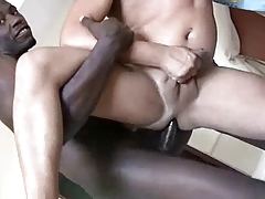 Beautiful Black Cock Stretches Twink Ass