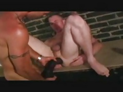 Guy Getting Huge Dildo Before Nice Fuck