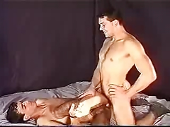 Turkish first timer fucks bareback