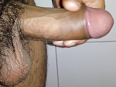 Playing with my cock to cum