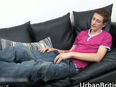 Jamie West wanking off his dick part4