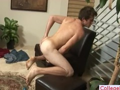 Guy lubes his tube and jerks it part5