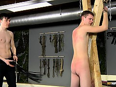 Aiden is naked and vulnerable, and his perfect ass is about