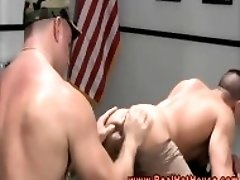 Muscular Gay Stud Getting A Rimjob