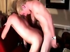 Blonde Twinks Taking Turns Banging Each Other