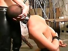 Gay Hunk Hunk Banging His Slave&039