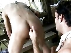 Dirty latin gay hardcore anal fucking ends in messy cumshots