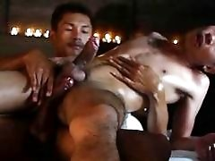 Oily Asian Boys Massage Bareback Experience