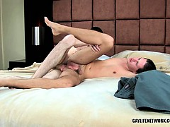 Twink Johnson diving his huge cock into tight ass