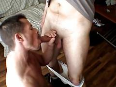 See hot cock sucking and butt licking scene