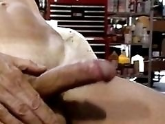 Gay hunk wants his cock sucked on