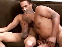 Kamrun & Kris  Black On Black Power Bareback