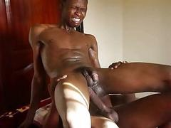 Ass Hurting Black Monster Cock Bareback Attack