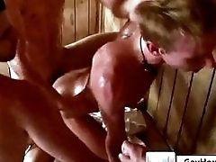 Hot Sauna Orgy Action